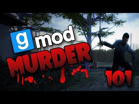 Wood Kissing & Underground Secrets! (Gmod Murder #101)