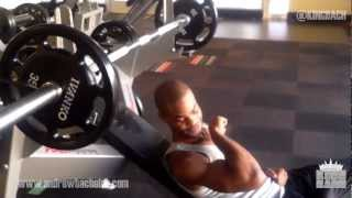 King Bach Day 49 Workout with Olympian Walter Dix