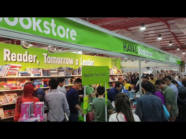 HAVAL Bookstore in Erbil International Book Fair