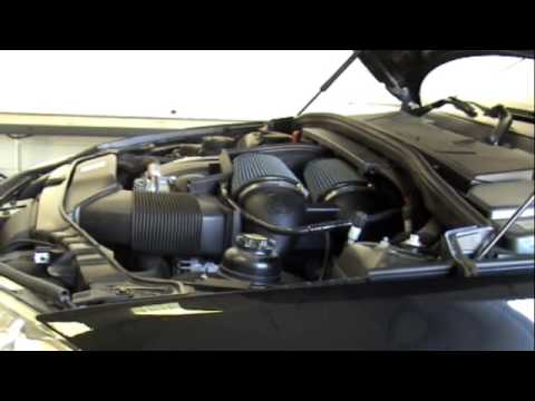 08-09 BMW 135i aFe Dual Intake System, Stainless Exhaust, DAS Air Scoo
