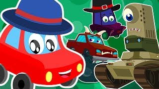 Monster Mashup   Little Red Car   Cartoon Videos For Kids