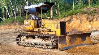 Máy ủi đất làm việc trong công trường | Nhạc thiếu nhi remix | bulldozer children's music
