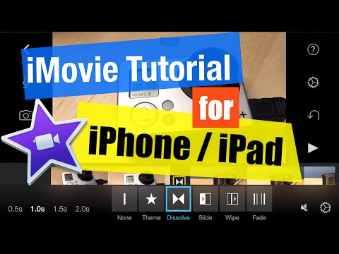 how to add effects on imovie iphone