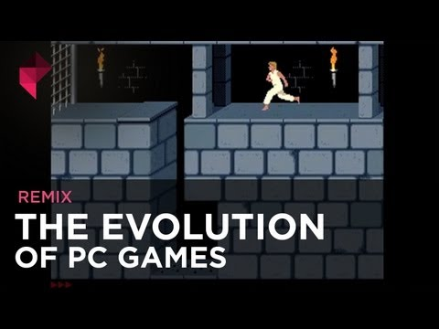 The evolution of PC games