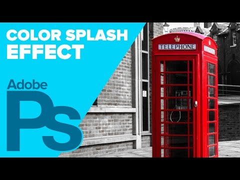 0 Photoshop CS6: Color Splash Effect