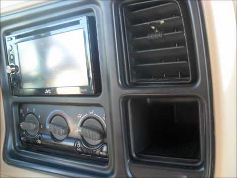 2002 Chevy Tahoe Double Din install