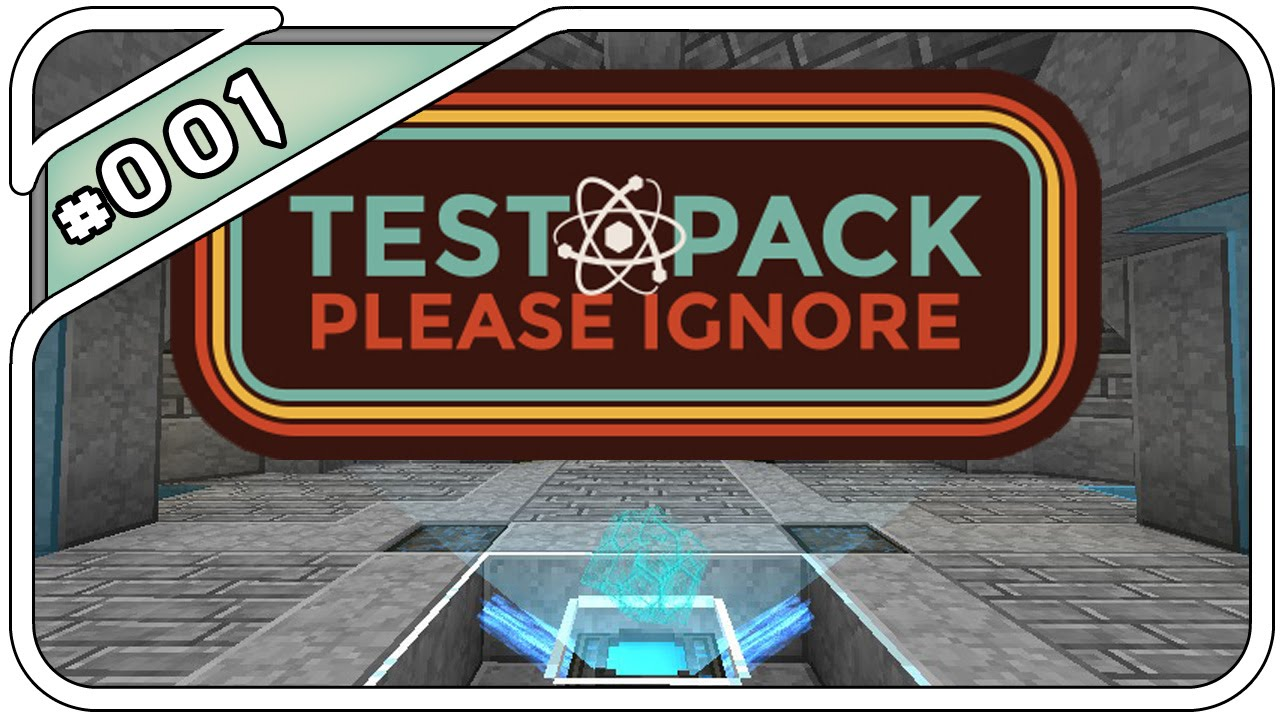 Minecraft Test Pack Please