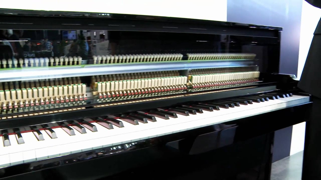 en new yamaha nu1 hybrid piano musikmesse 2012 youtube. Black Bedroom Furniture Sets. Home Design Ideas