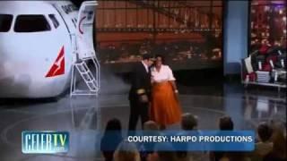 Thumb Oprah regala a su audiencia un viaje a Australia y John Travolta será el piloto