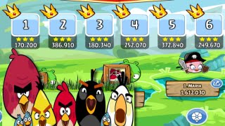 Angry Birds Friends Tournament #1 #2 #3 #4 #5 #6 Week 171 Tournament by 3starsgoldenegg