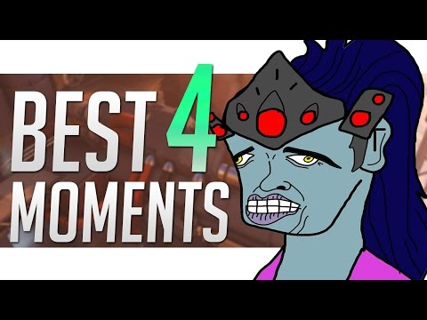 Overwatch ► FUNNY/FAILS & EPIC Moments #4