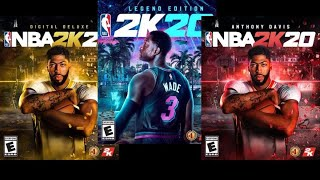 NBA 2K20 Release Date Sept. 6 Anthony Davis, Dwyane Wade Covers