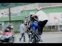 "MOTORCYCLE STUNTS ""CRAZY IN SEATTLE"" CHAPTER 3 TRICKS CRASH & STUNTING"