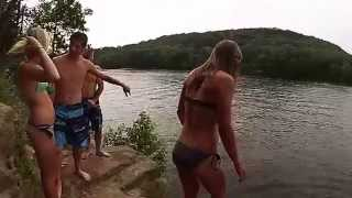 Cliff Jumping Mt. Simon - Eau Claire, WI