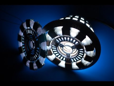 Iron Man Arc Reactor Replicas (Full Size and Wearable)