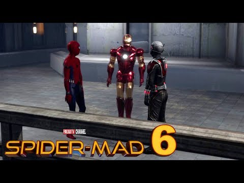 Spider-Man: Homecoming Spoof Ep.6 | with Ant-Man & Iron Man | Hindi Comedy Video | Pakau TV Channel thumbnail