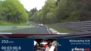 RN #1 Onboard video Nürburgring VLN, Ferrari 458 , 08:40.973