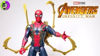 """IRON SPIDER"" Titan Hero Series Power FX Figure Review   Avengers Infinity War"