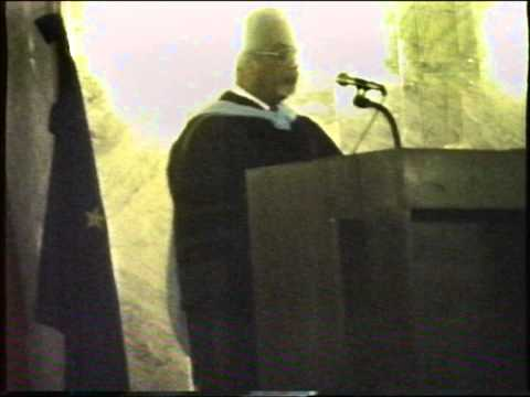 Ruben Cabral discursa no Commencement Day CLIP