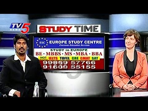Study In Europe Without GRE & IELTS | Europe Study Centre | Study Time | TV5 News