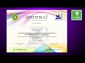 Tutorial Coreldraw - design sertifikat thumbnail