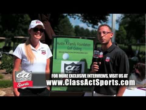 ClassActSports.com - Dallas Cowboys Pro Bowl Wide Receiver Miles Austin hosts Austin Family Foundation Golf Outing in Wayne, NJ to raise money for the Garfie...