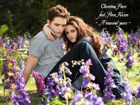 13. Christina Perri feat. Steve Kazee - A thousand years (Breaking Dawn 2 Soundtrack)