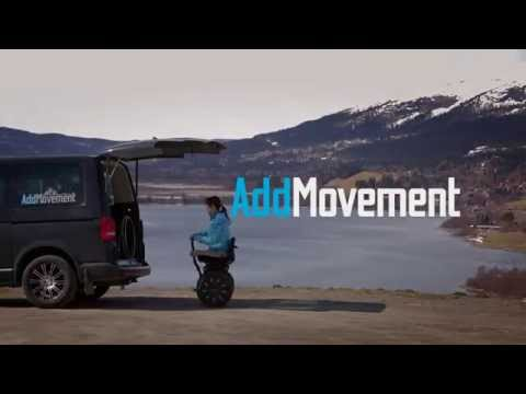 Wheelchair segway - AddSeat by AddMovement