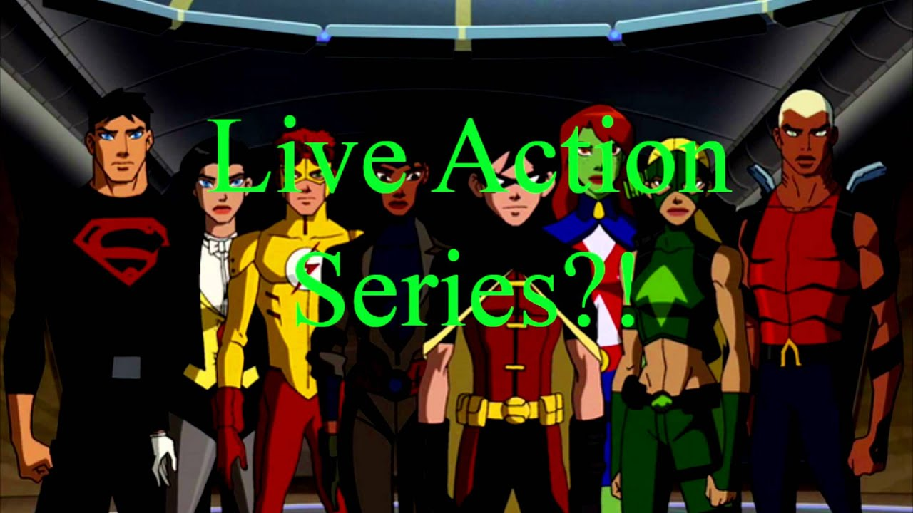 Justice Live 2015 Live Action Young Justice