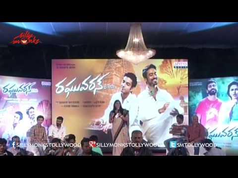 Raghuvaran B.tech Movie Audio Launch P1 - Dhanush, Anirudh Speech video