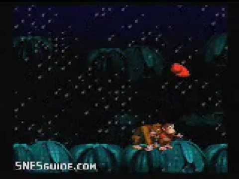 Donkey Kong Country - SNES Gameplay