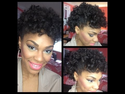 Perm Rod Set On 4c Natural Hair | How To Save Money And Do It Yourself ...