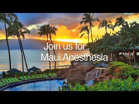 Holiday Seminars - Maui Anesthesia Conference – 2016