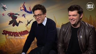 Chris Miller & Phil Lord talk Spider-Man: Into the Spider-Verse
