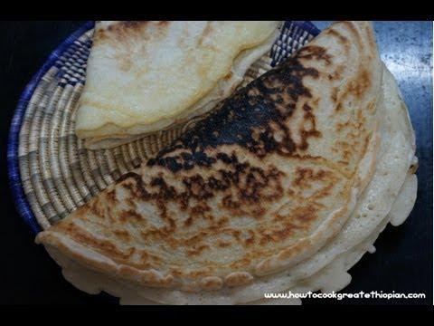 Ethiopian Pizza Bread Recipe - Annebabero - Dabo Injera In Amharic