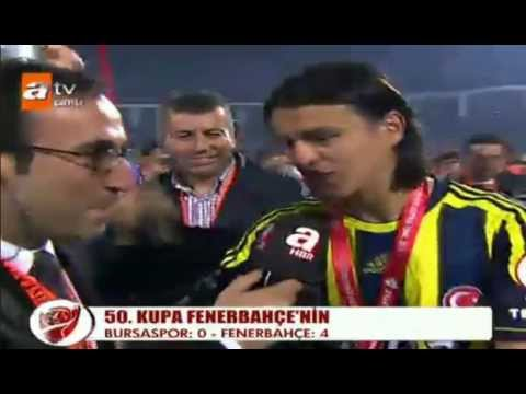 Bursaspor 0-4 Fenerbahçe Kupa Töreni 16 Mayıs 2012