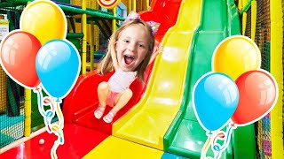 Funny Video Indoor playground fun playtime with Eva Star