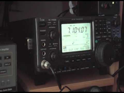 40 meter Amateur Radio Band - Ireland Wales and England