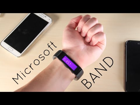 Microsoft Band Unboxing and Demo!