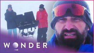 Engineers Build Escape Vehicle From Arctic Plane Crash Wreckage (Part 1) | Escape EP5 | Wonder