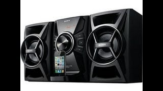 Birthday 2012 Unboxing 4: Sony MHC-EC609iP Hi-Fi Sound System