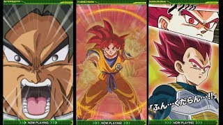 ALL NEW GOD GOKU, GOD VEGETA & BROLY SUPER ATTACKS! (DBZ: Dokkan Battle)