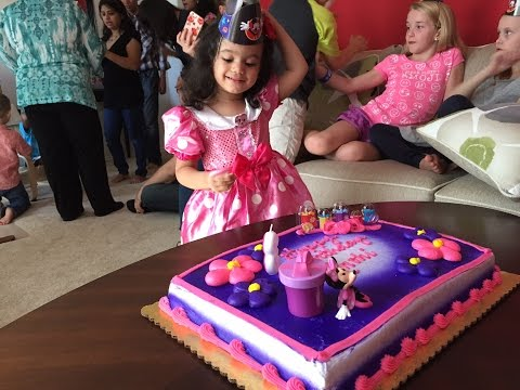 Ruhi's 3rd Birthday Celebration !!