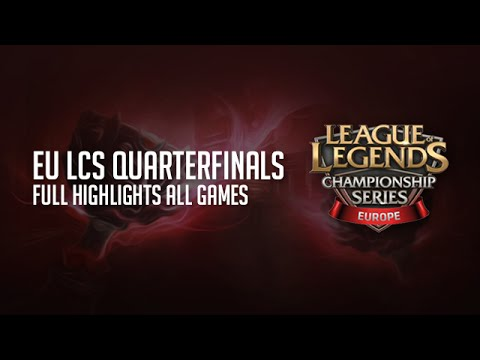 Unicorns of Love vs Roccat ALL GAMES HIGHLIGHTS Playoffs Quarter Final EU LCS Summer S5 2015 UOL vs
