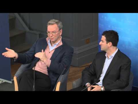 Google's Eric Schmidt and Jared Cohen: The New Digital Age
