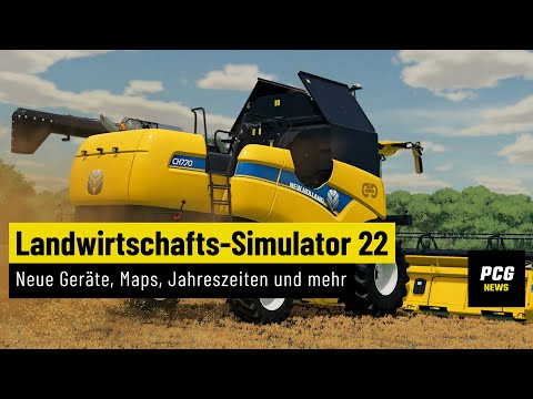 Landwirtschafts-Simulator 22 angekündigt - neue Geräte, Maps, Jahreszeiten und mehr | News