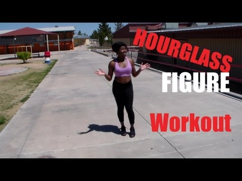 Hourglass Figure Workout | December's Fitness Meal and Exercise Plans