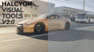 HALCYON VISUAL TOOLS V2.0 | AUTOMOTIVE TAILORED LUT PACK | SONY CAMERA LUTS