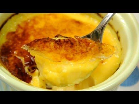 How to make Crème brulée クリームブリュレの作り方