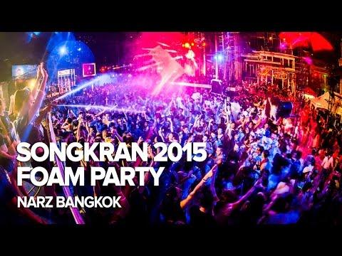Songkran 2015 Foam Party at Narz Bangkok